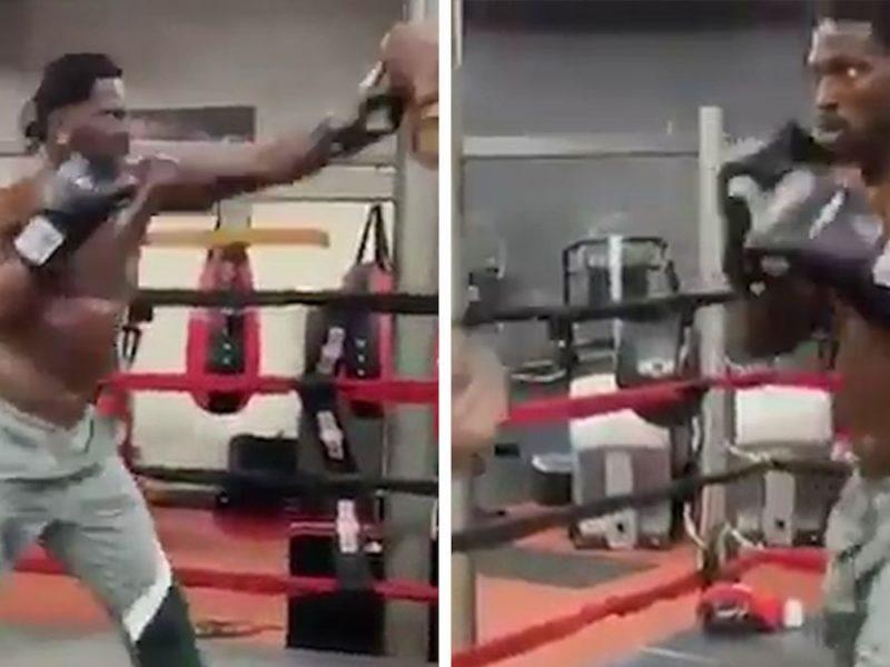 Antonio Brown Starts Boxing Training Amid Logan Paul Fight Talks