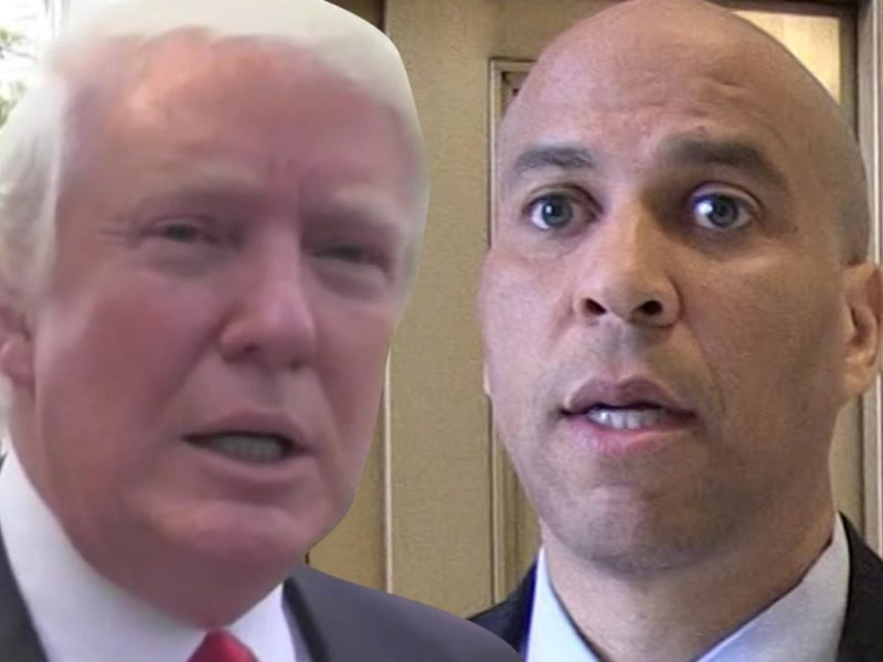 President Trump Sarcastically Tweets About Cory Booker Dropping Out