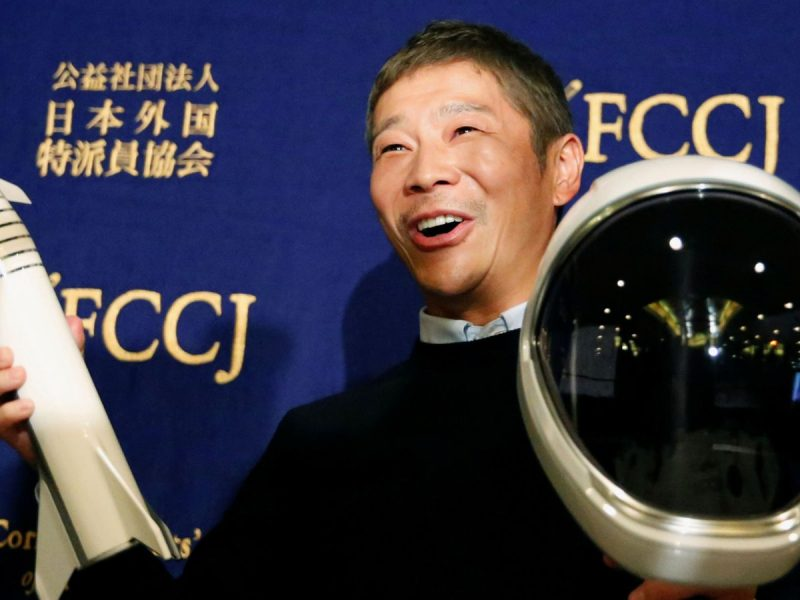 Yusaku Maezawa: Japanese tycoon seeks 'life partner' to take to the moon | World News