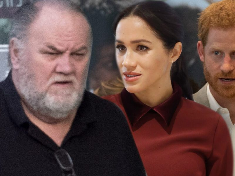 Thomas Markle Plans to Keep Cashing in On Meghan, Like it or Not