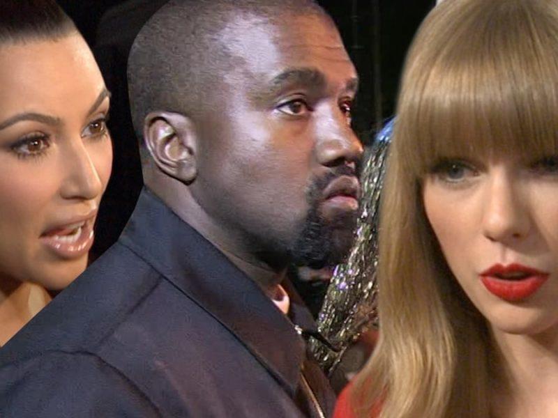 Kim Kardashian West Responds to Taylor Swift Over Old Kanye Video