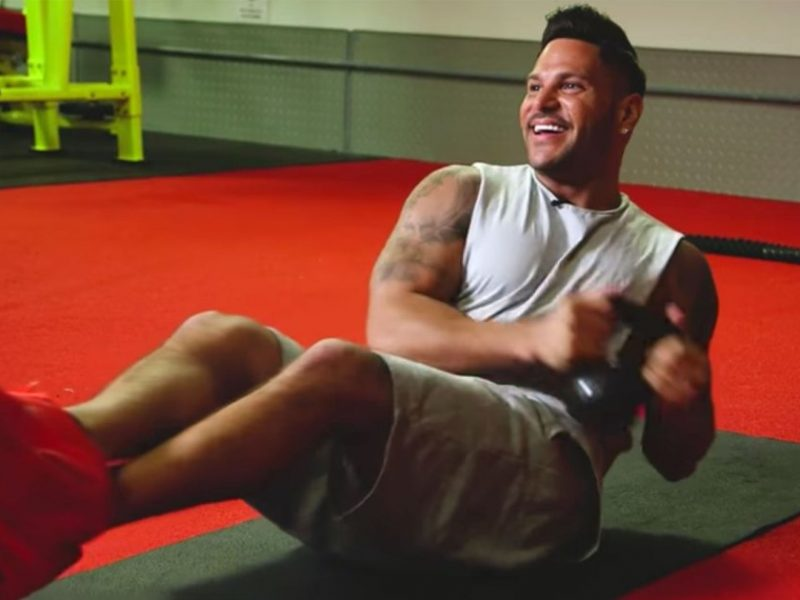 Ronnie Ortiz-Magro Shares His Easy Go-To Workout Routine: Watch