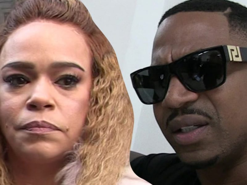Faith Evans Busted for Domestic Violence, Allegedly Attacked Stevie J
