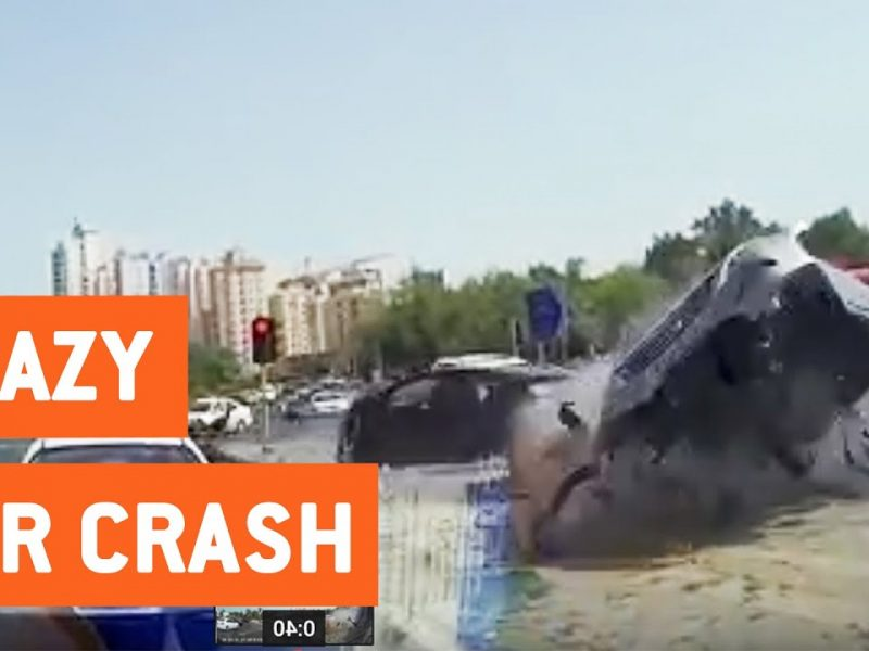 Reckless Driver Loses Control and T-Bones Car   Fast and Furious