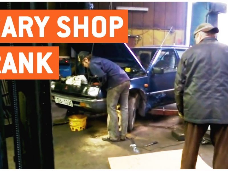 Autoshop Scare Prank | Shots Fired