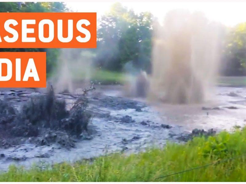 Golf Course Eruption   Gaseous Hazard