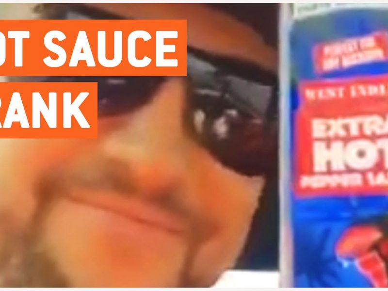 Hot Sauce Prank | Prank of the Year?