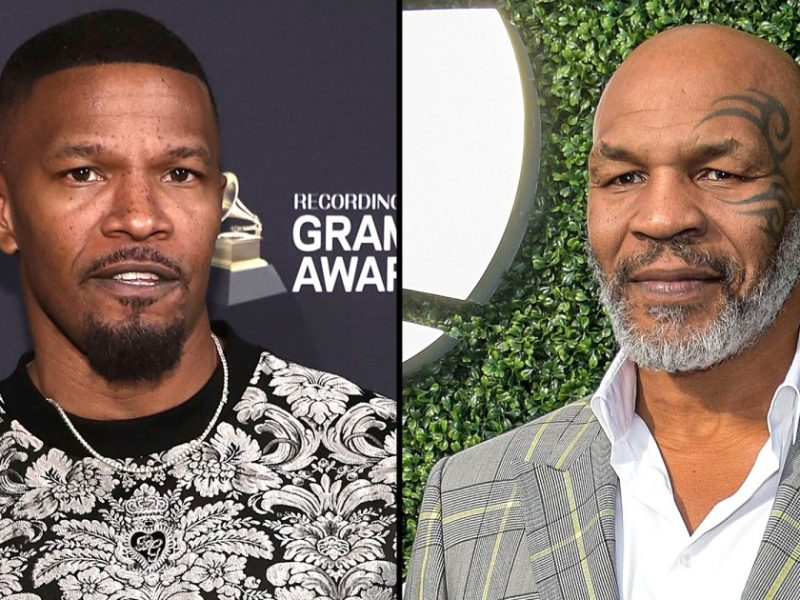 Jamie Foxx Shows Off His Ripped Physique as He Bulks Up to Play Mike Tyson