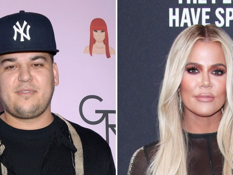 Rob Kardashian Reveals Weight Loss in Rare Photos From Khloe's Birthday