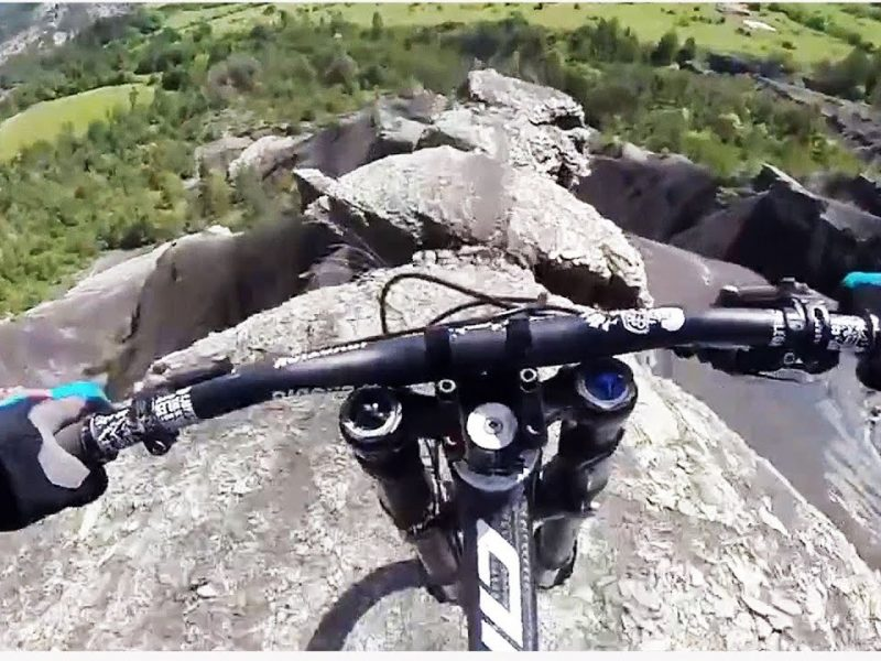Crazy Mountain Biking POV | So Much Nope