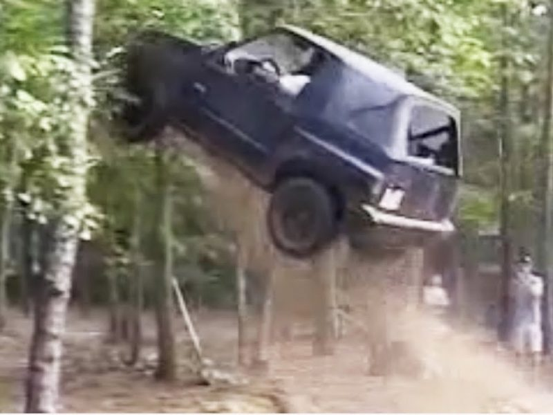 INSANE Suzuki Jump Goes RIGHT   #ThrowbackThursday