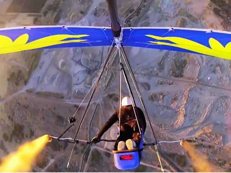 Hang Gliding Smoke Signals | JukinVideo EXCLUSIVE