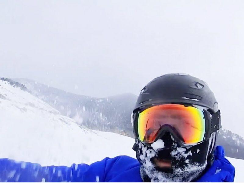 INCREDIBLE Snowkiting In Northern Rockies | JukinVideo EXCLUSIVE