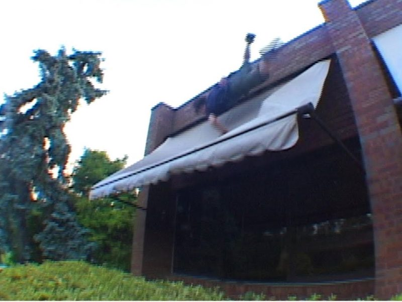 Roll Onto Awning   #ThrowbackThursday
