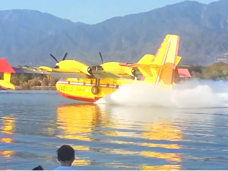 Colby Fire Fighter Plane | Water To-Go From Santa Fe Dam