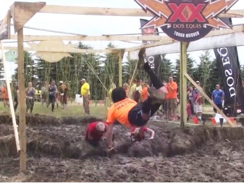 Electroshock Therapy | Tough Mudder Clotheslined