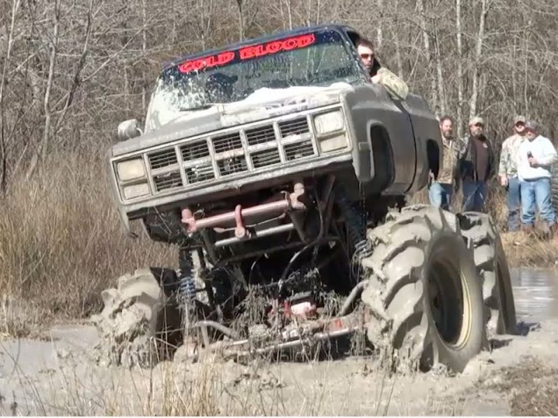 Timber! | Monster Truck Rollover