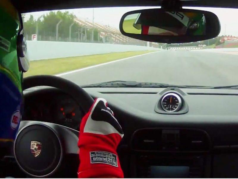 A Day In the Life   Crashing a Porsche GT3