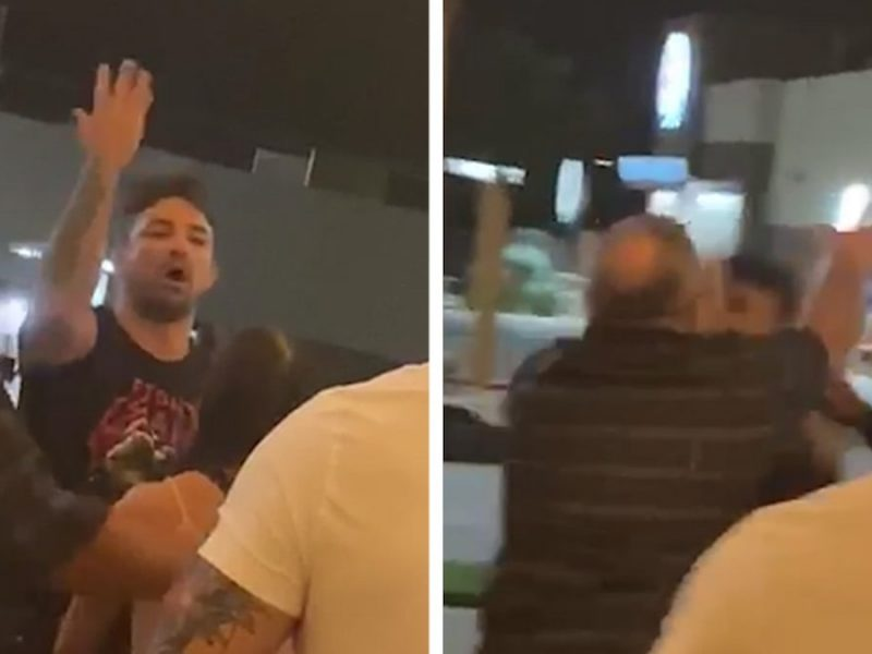 UFC's Mike Perry Punches Old Man In Angry Restaurant Tirade