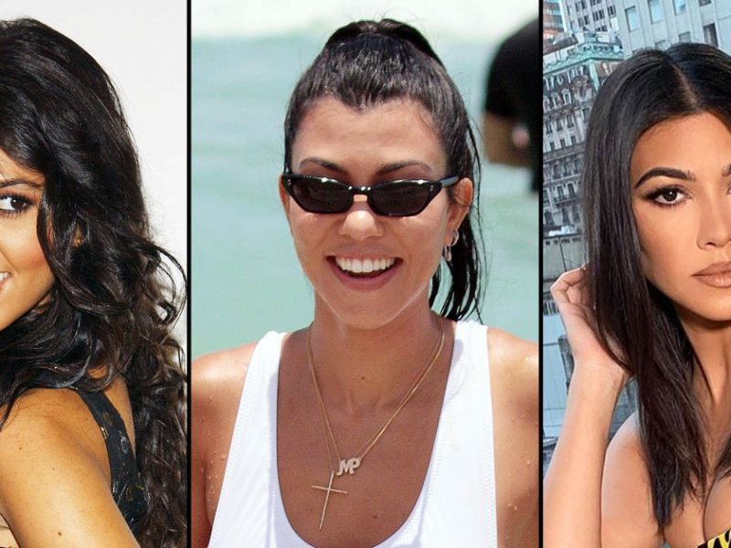 Kourtney Kardashian's Body Evolution Through the Years