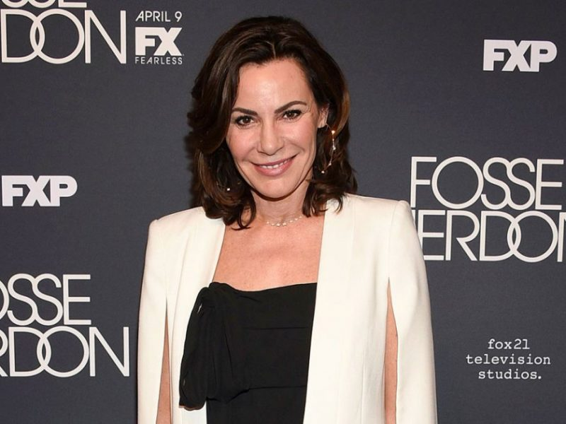 'RHONY' Star Luann de Lesseps Isn't Drinking in Quarantine