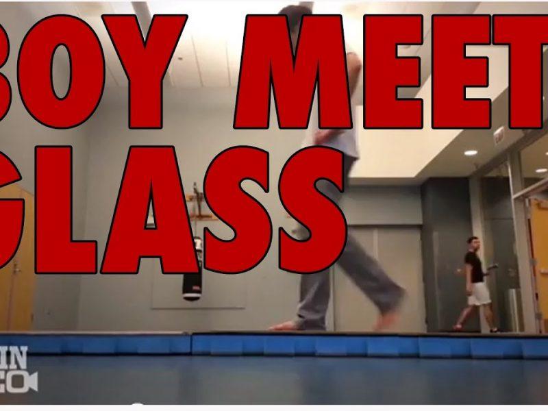 Boy Meets Glass
