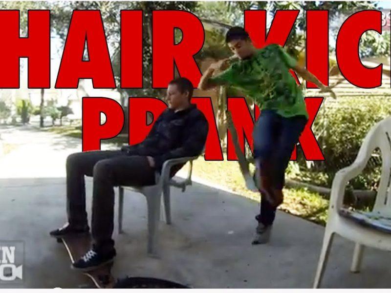 Chair Kick Prank Ultimate Backfire