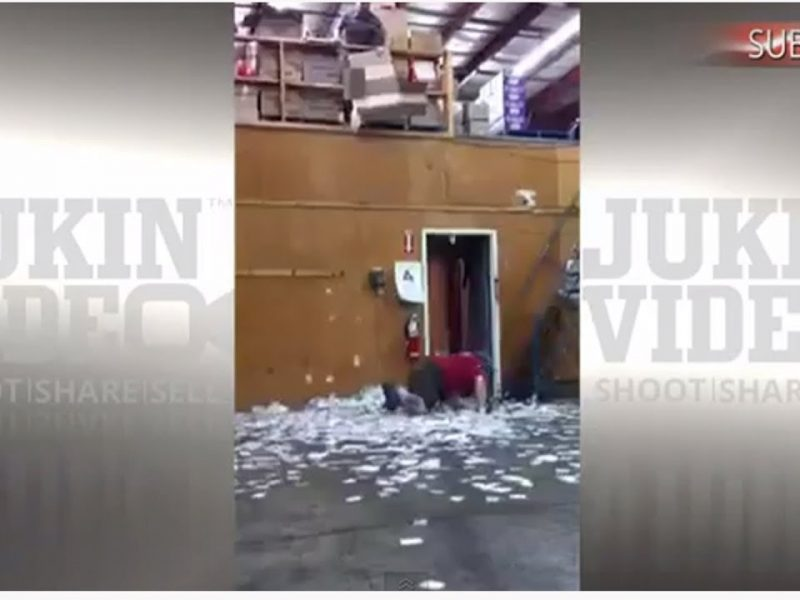 Warehouse Telephone Prank [Man Pranked by Co-Workers]