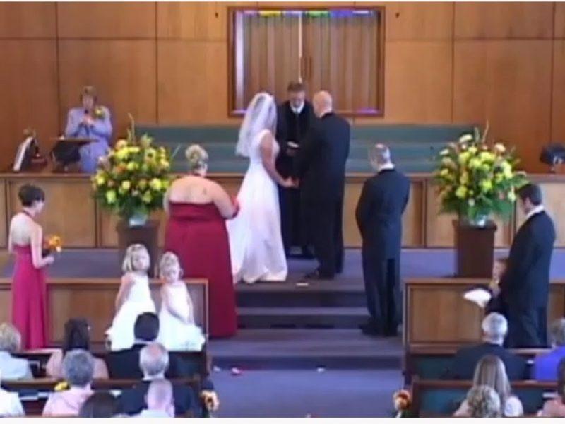 Wedding Flasher Causes Disaster