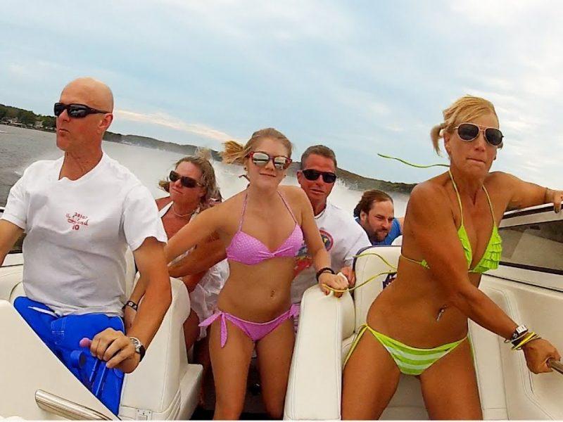 Seven Person Boat Smash