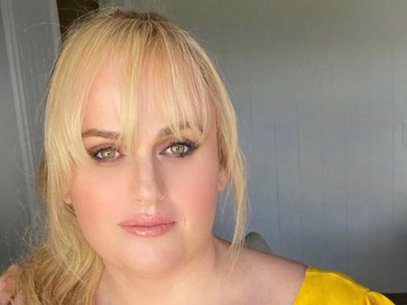 Rebel Wilson Shows Off Slim Waist, Models Her Angles in Bright Yellow Dress