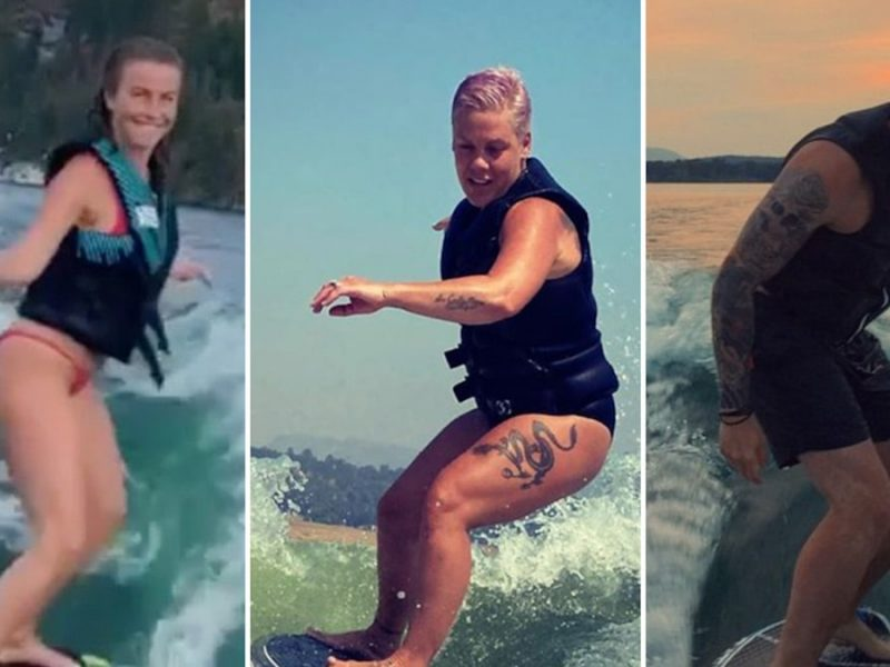 Wakesurfing Stars — What A Ride!