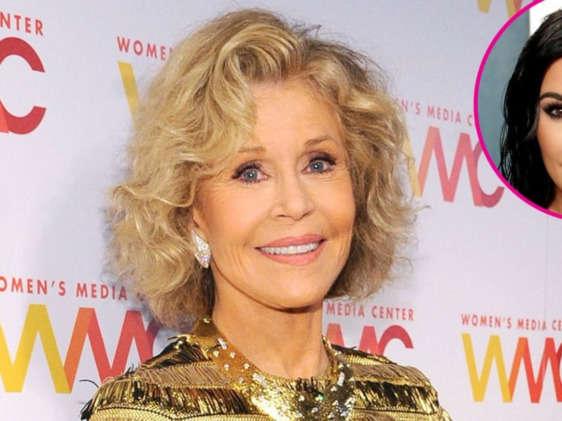 LOL! Jane Fonda Told Kim Kardashian She Has 'the Most Amazing Behind'