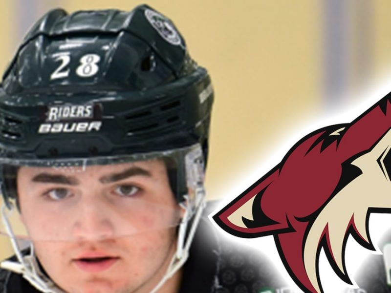 Phoenix Coyotes Cut Ties With 2020 Draft Pick Mitchell Miller Over Bullying Past