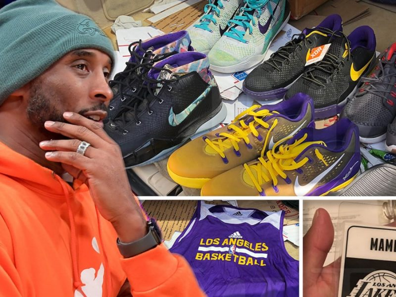 Kobe Bryant Storage Locker Treasures Returned to Vanessa, 'It's All Worked Out'