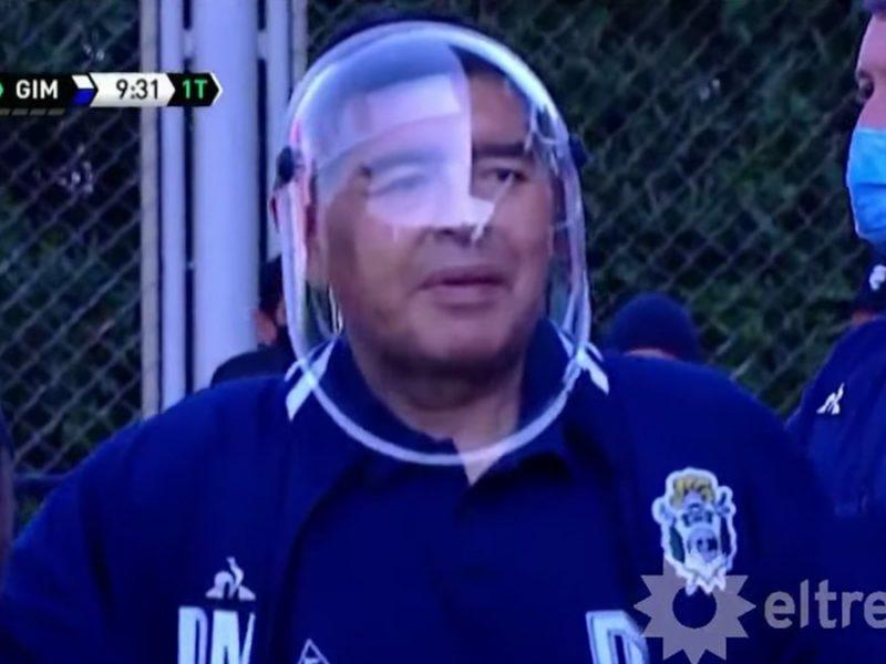 Diego Maradona Slams Critics For Mocking Buzz Lightyear-Like COVID Mask