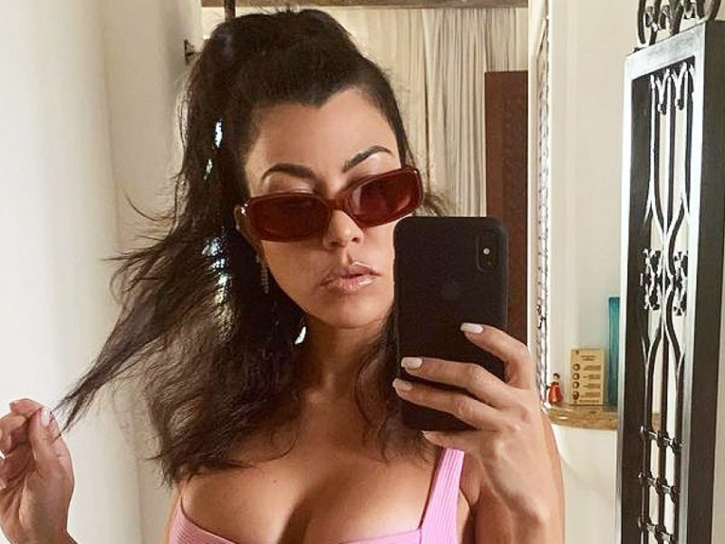 Shut Down! Kourtney Tells Friend 'Get Me Pregnant' After Sparking Baby Rumors