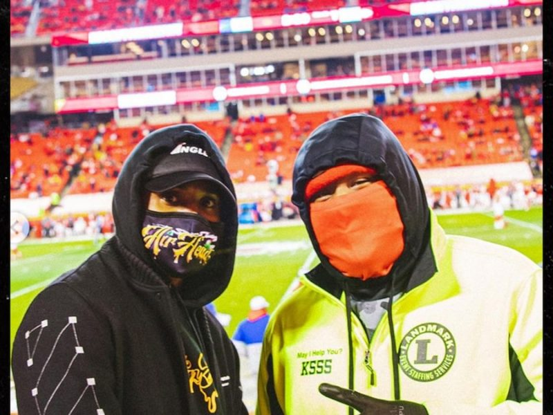 Trey Songz Wore Mask Before Getting Arrested at Chiefs Game