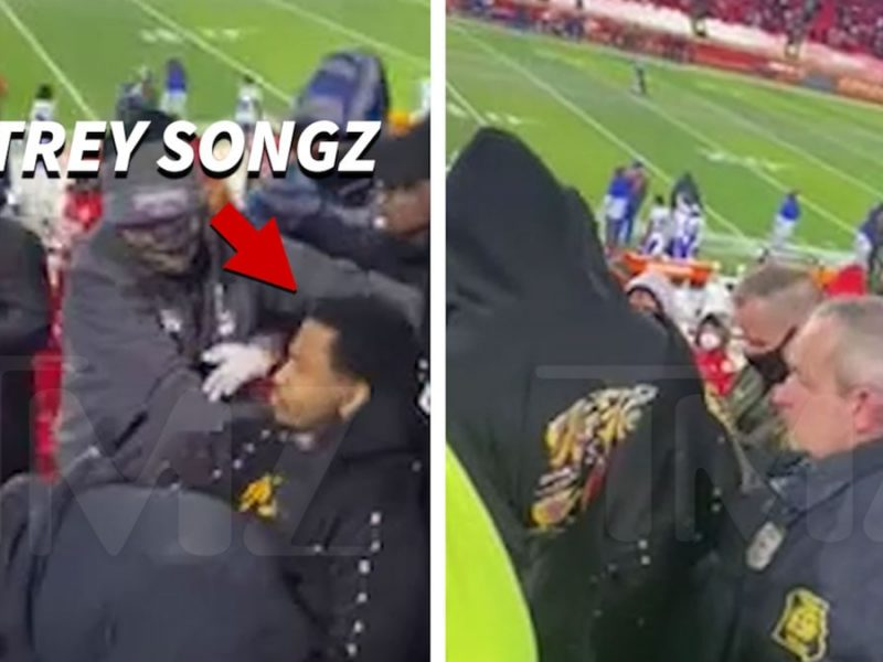 Trey Songz in Violent Altercation with Cop at Chiefs Game