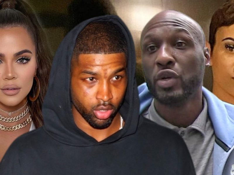 Khloe Kardashian Knew Tristan Thompson Hooked Up with Lamar Odom's Ex