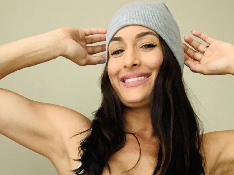Nikki Bella Shows Off Abs, Says She's 'Almost Back to Her Pre-Baby Body'
