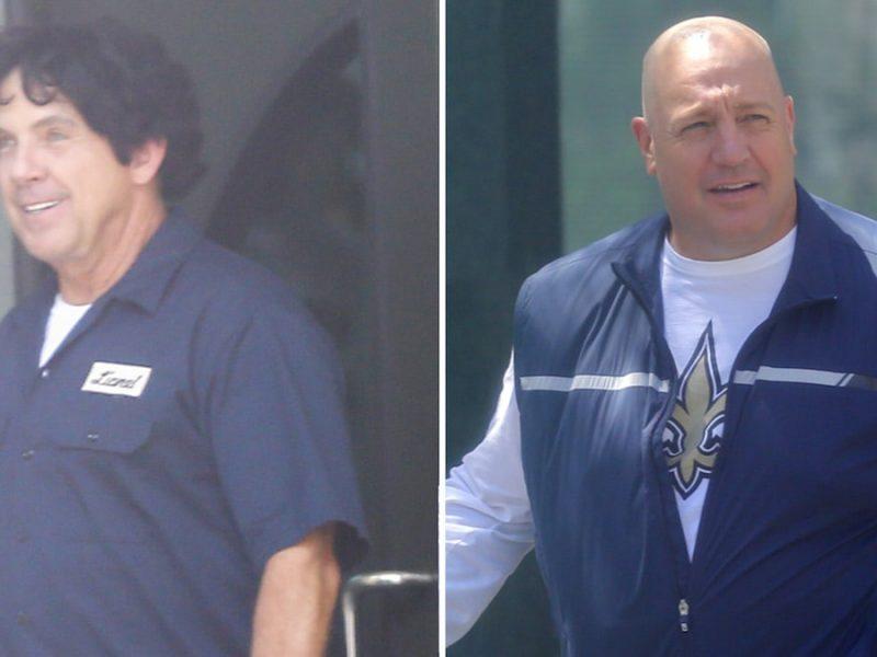 NFL's Sean Payton On Set for 'Bountygate' Movie, Kevin James Playing Saints Coach!
