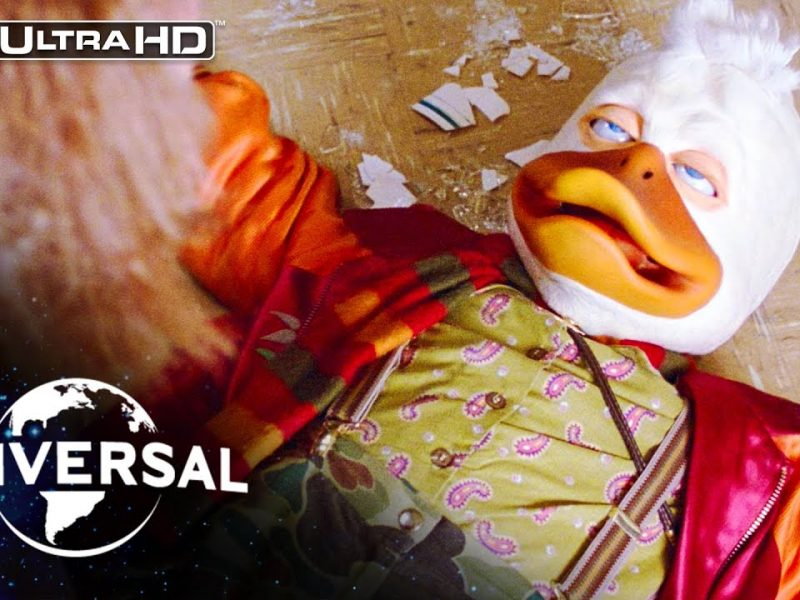 Howard the Duck | Quack Fu & Telekinesis at Joe Roma's Cajun Sushi Diner in 4K HDR
