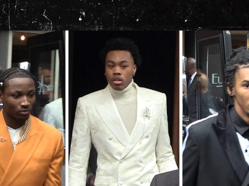 NBA Prospects Show Off Flashy Fashion Before Draft, Lookin' Good!